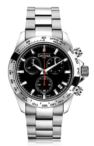 Speedline black 42mm chrono 10atm quartz - 16347055