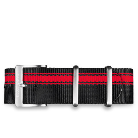 Black/Red NYLON STRAP - 22mm - 16948865