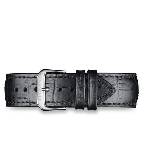 BLACK CALFSKIN LEATHER STRAP 16945650
