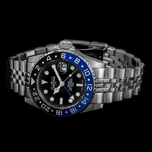 "Ternos professional tt 42mm 200m gmt black-blue ""Batman"" 16157104"