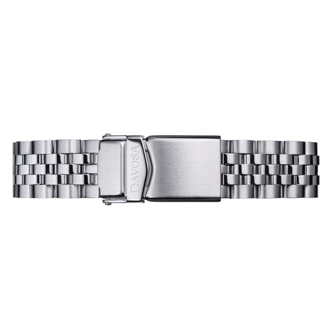 Pentalink 5-row stainless steel bracelet - 16955510