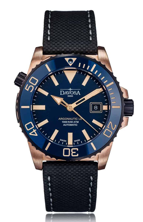 ARGONAUTIC BRONZE 300m Diver Blue 42mm Automatic 16158145 Limited Edition