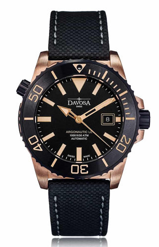Argonautic bronze 300m diver black 42mm automatic 16158155 - limited edition