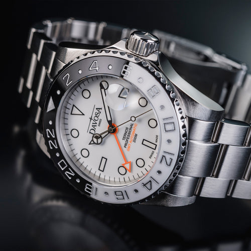 Ternos professional gmt black & white automatic limited edition 16157115