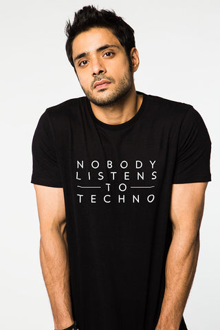 Nobody Listens To Techno Black