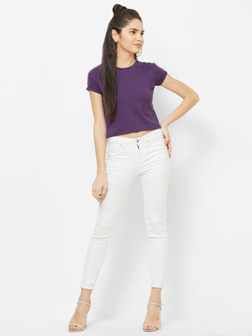 BASIC PURPLE CROP