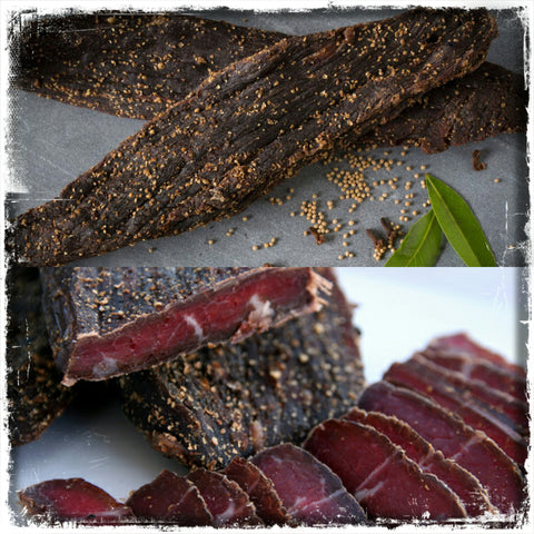 Biltong Royal - Le Traditionnel - Sans Gras - Morceaux  Entiers. Achat Biltong  france , belgique, uk, Suisse