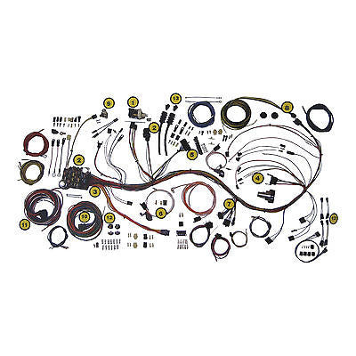 1953-1956 Ford Truck wire harness Wiring Kit complete