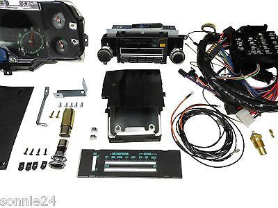 New Chevelle Ss >> 1971 CHEVELLE SS DASH KIT TACH GAUGES RADIO WITH AIR COND ...