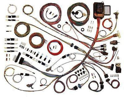 1953-1956 ford truck wire harness wiring kit complete american autowire  510303