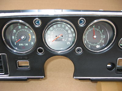 70-72 Chevelle SS Package - Gauge Set
