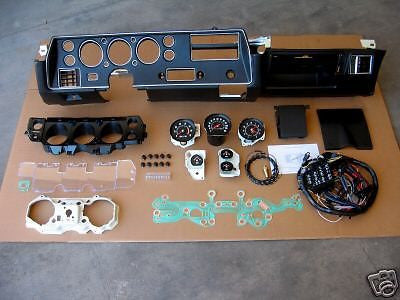 1970 70 CHEVELLE SS DASH CONVERSION KIT EL CAMINO SUPER SPORT COMPLETE NEW