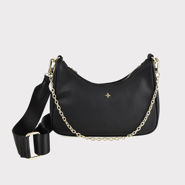 Paloma Bag - Black/Gold