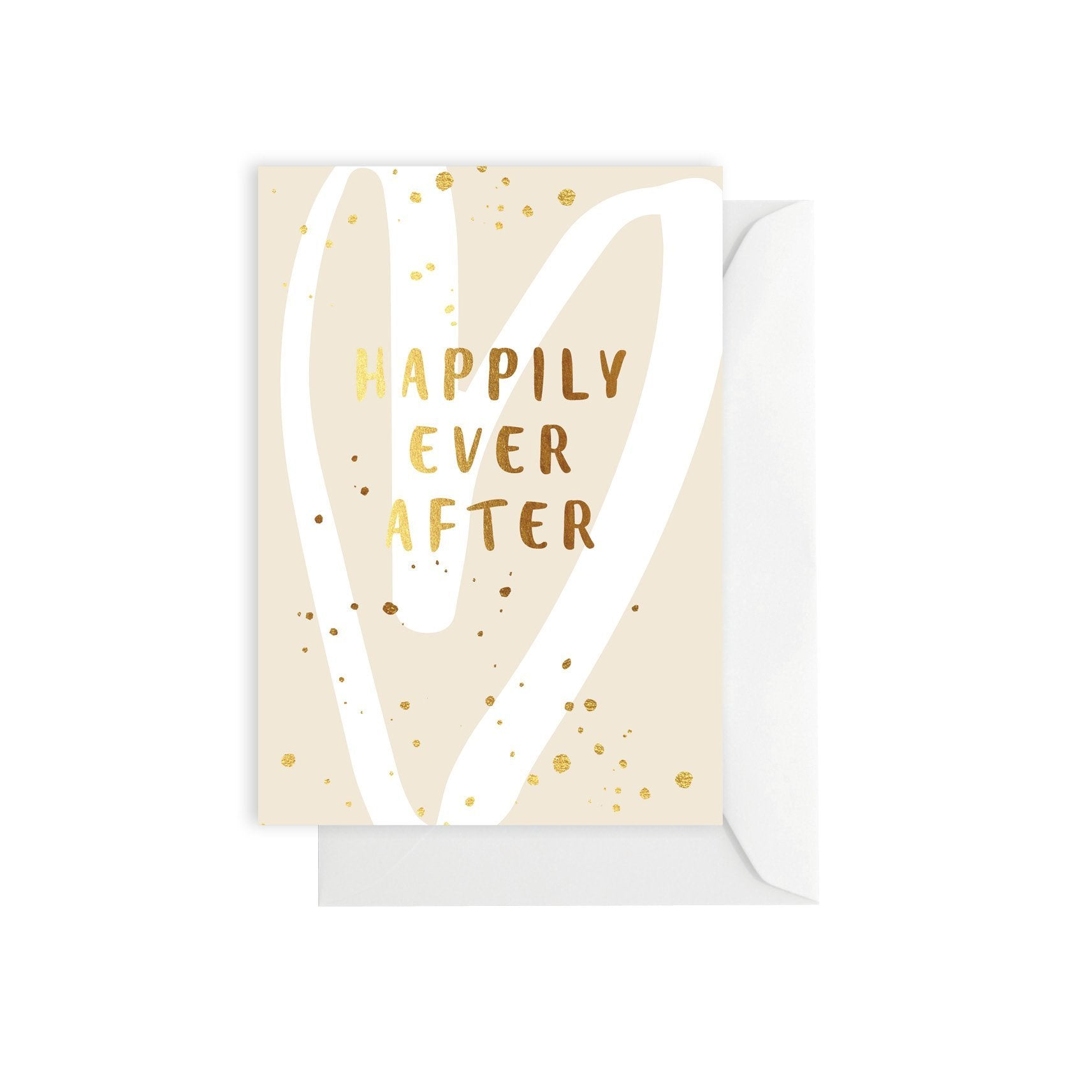 Greeting Card - Happily