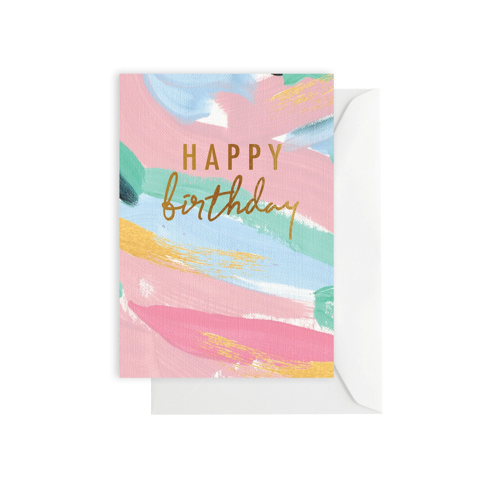 Greeting Card - Birthday Brush