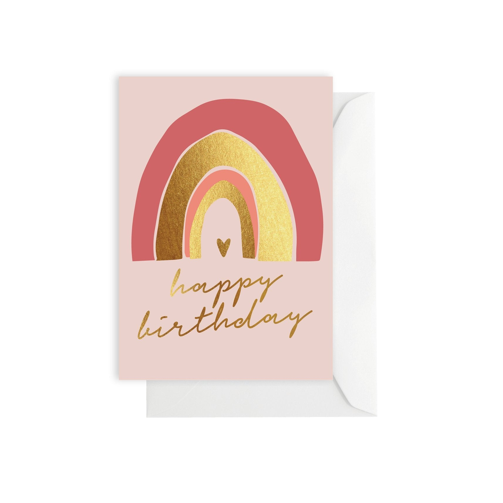 Greeting Card - Rainbow Birthday