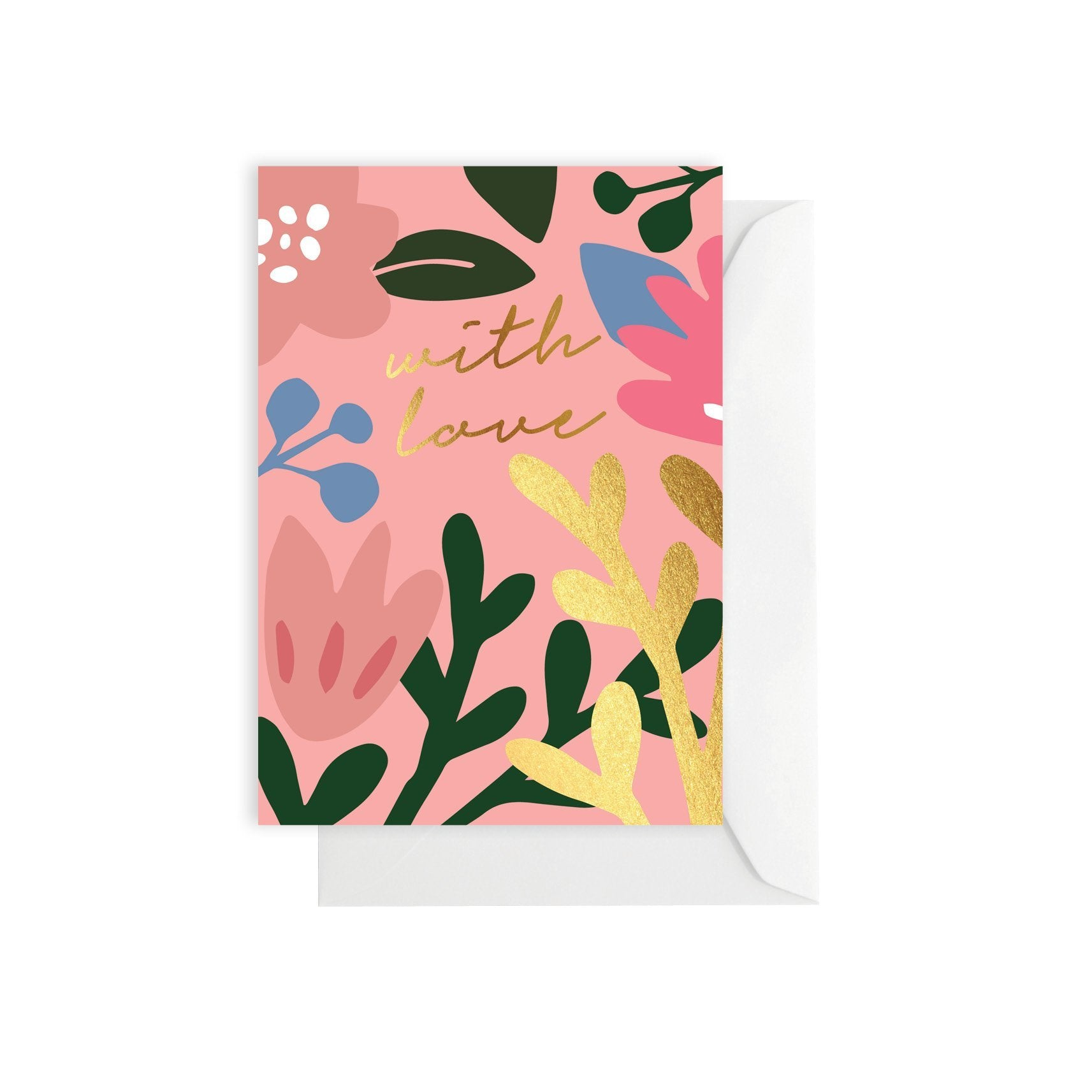 Greeting Card - Tropical Love