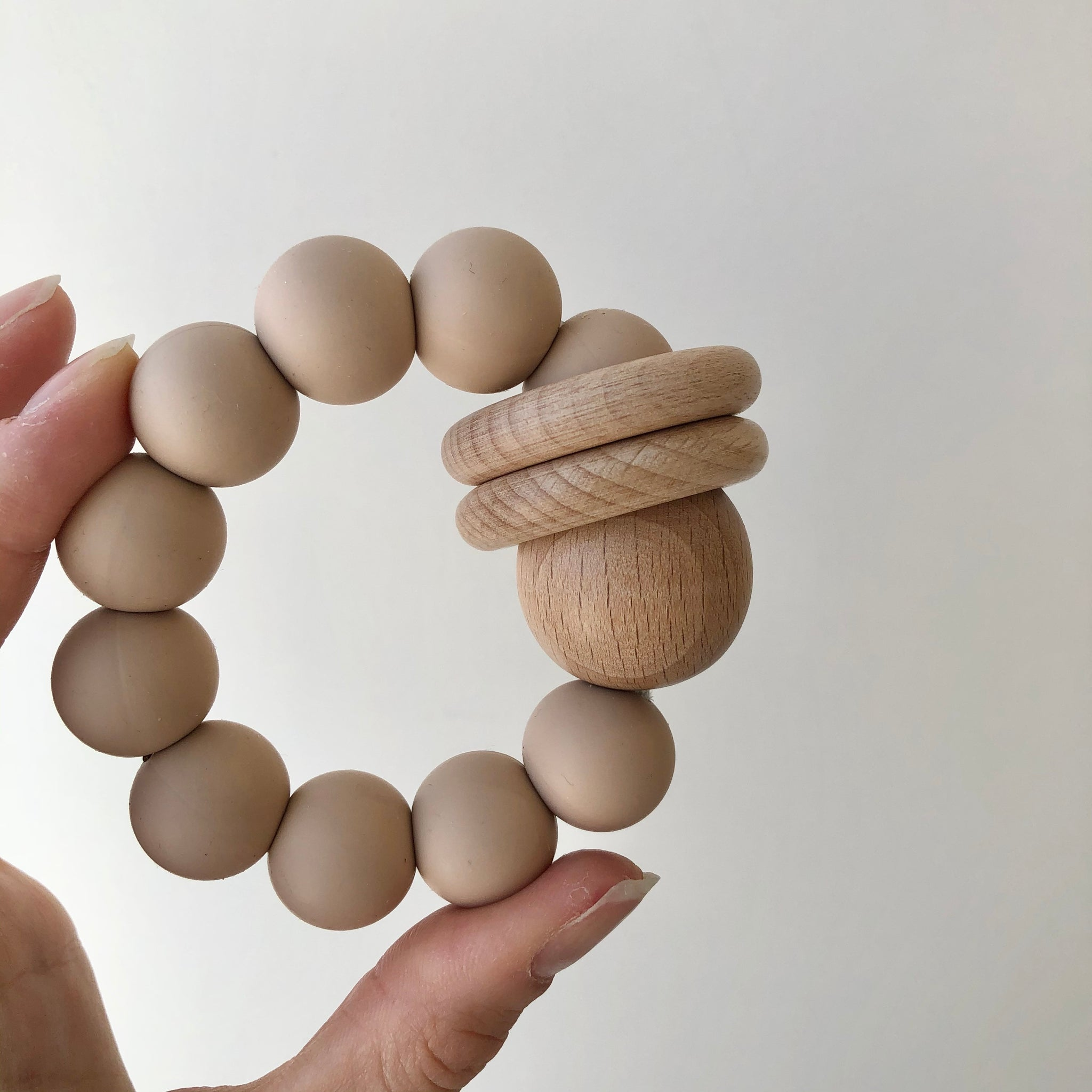 Ring Teether - Oat