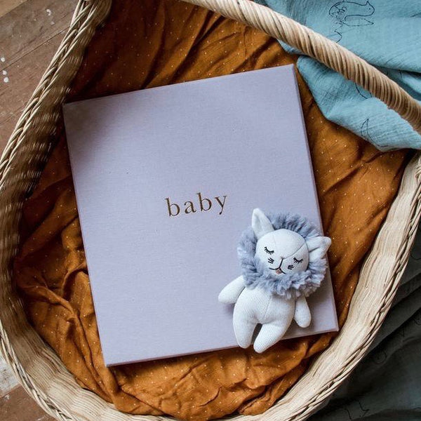 Baby Book - First 5 Years Grey