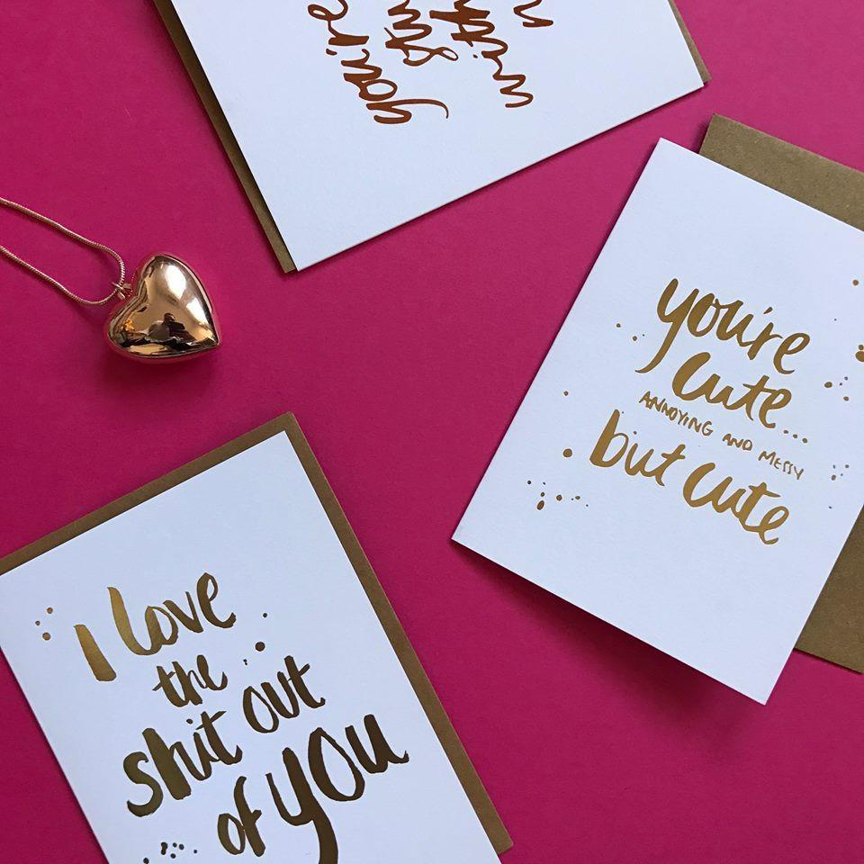 Greeting Card - You're Cute