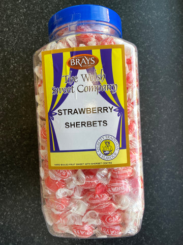 Sherbet Strawberries