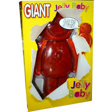 Giant 1KG Jelly Baby - Sweet Hero
