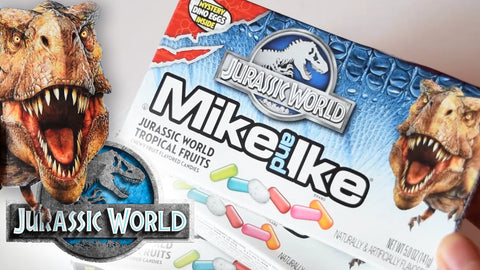 Mike and Ike Jurassic World Tropical Flavoured Fruits - Sweet Hero