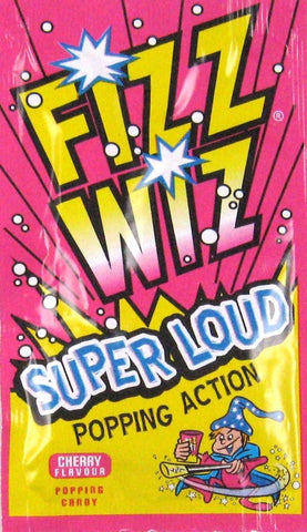 Fizz Whiz - Space Dust - Cherry (5pk) - Sweet Hero