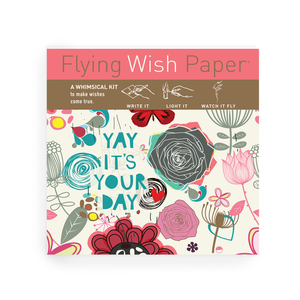 IT'S YOUR DAY Flying Wish Paper Mini kit