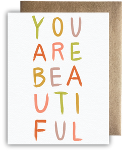 Bright & Bold You are Beautiful