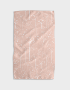 Butterflower Kitchen Tea Towel