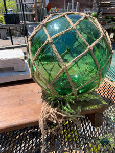Glass Buoy with Net