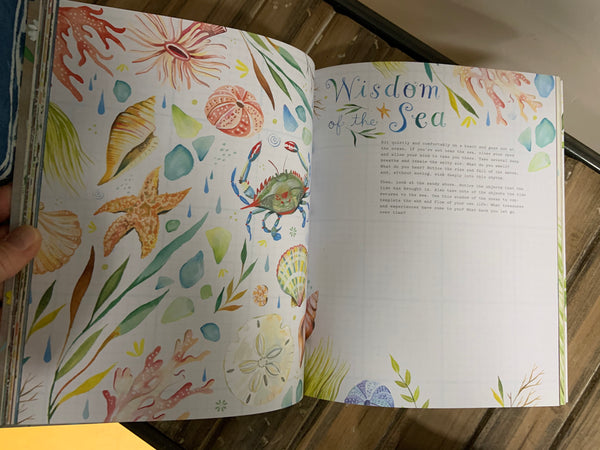 The Wildflower Workbook by Katie Daisy