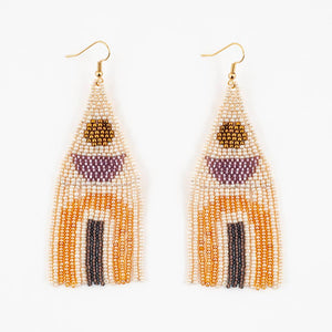 Beaded Balance Earrings