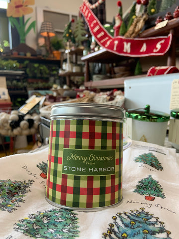 Merry Christmas from Stone Harbor candles