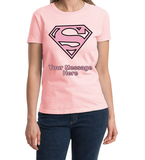 Super Woman Personalized T-Shirt
