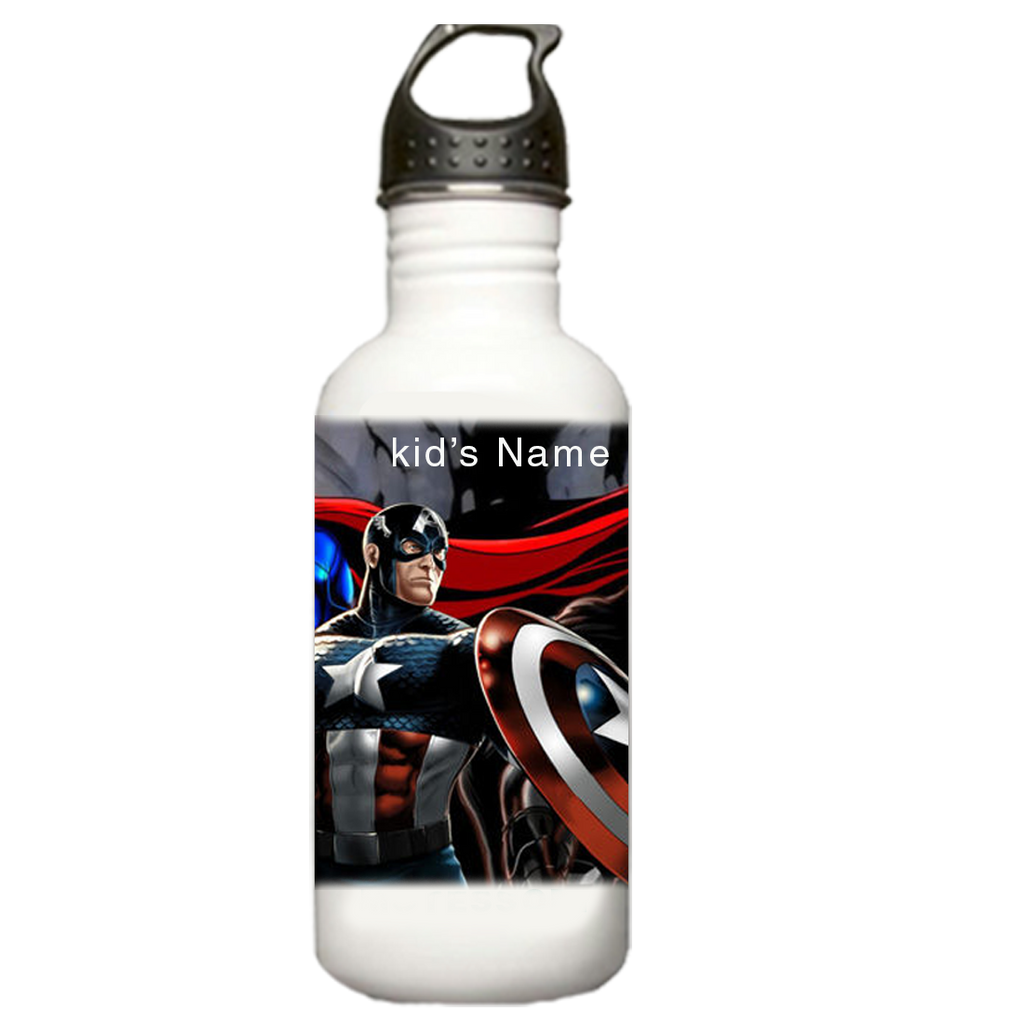 Super Heroes Water Bottle