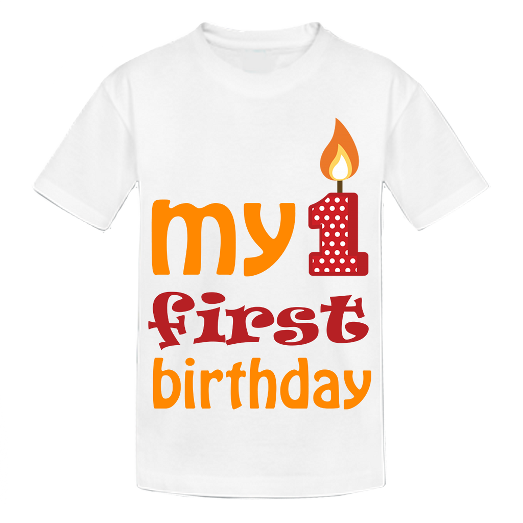 My First Birthday t-shirt