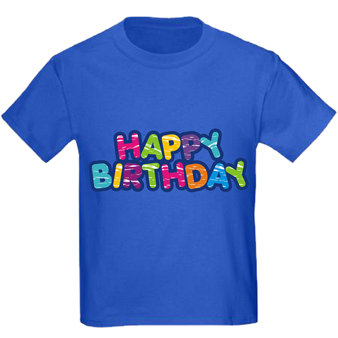 Colorful Happy Birthday t-shirt