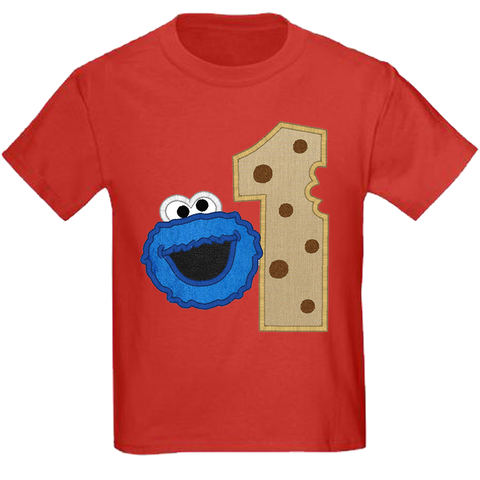 Cookie Monster Turns One t-shirt