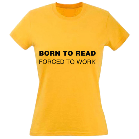 Born To Read t-shirt
