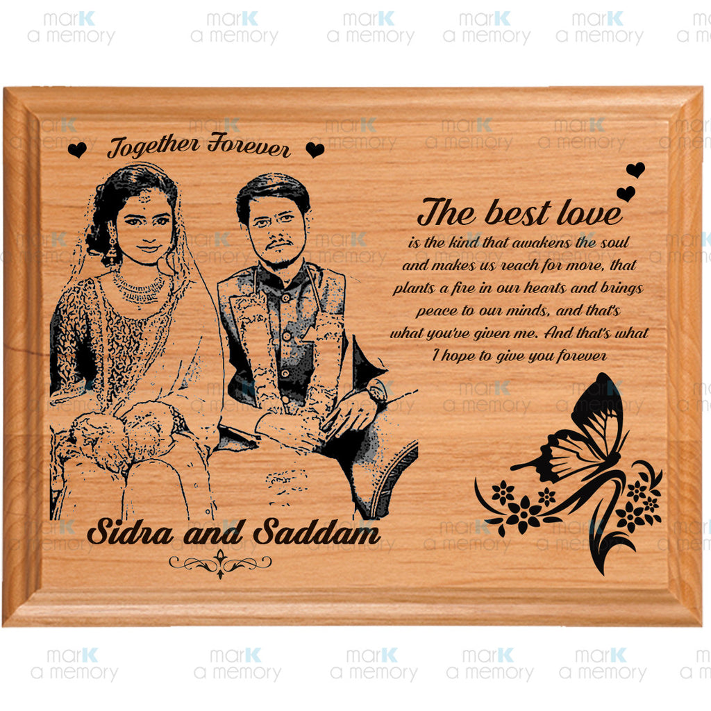 Wooden Plaque 5