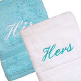 His & Hers Towel Set