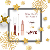 Hit Offer - 1 Lux Creme + 1 Ultra Matte + 1 Lippie