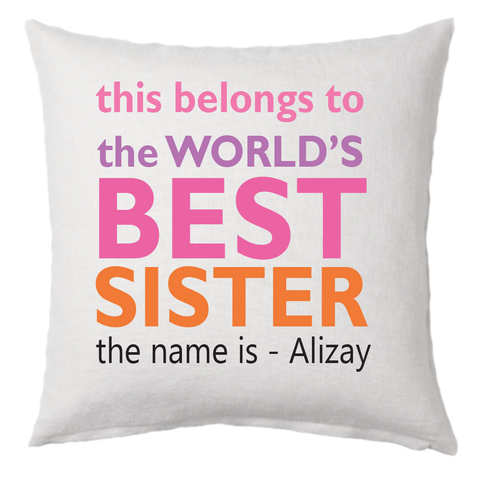 Best Sister Pillow 2