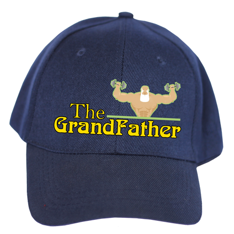 Embroidered Cap for Grandparents