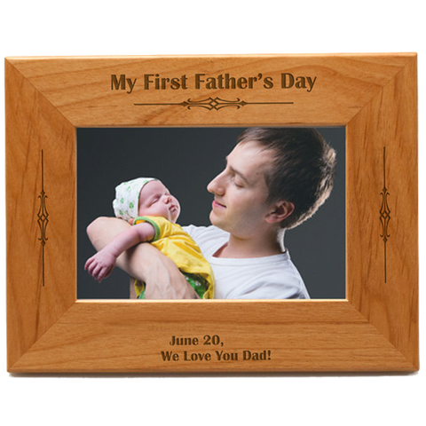 Father's Wooden Frame 1