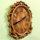 Antique Oval Clock