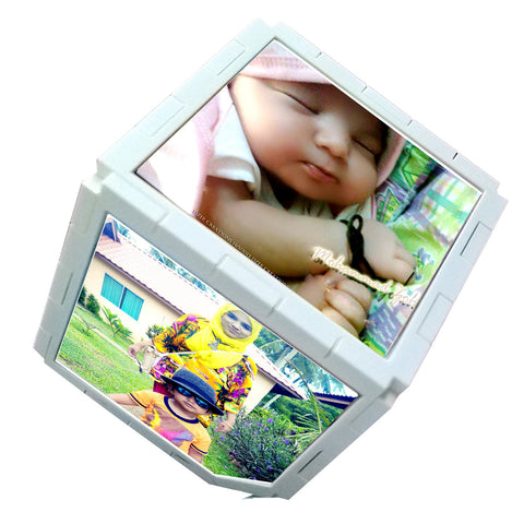 Customized Photo Cube