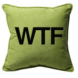 WTF Feelings Pillow